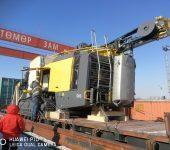 1. Wagonlading voor Mongolië